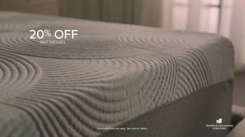 American Signature Furniture End of Summer Sale TV Spot, 'Dream Plus Queen Mattress Set' - Thumbnail 4