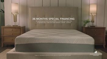 American Signature Furniture End of Summer Sale TV Spot, 'Dream Plus Queen Mattress Set' - Thumbnail 6