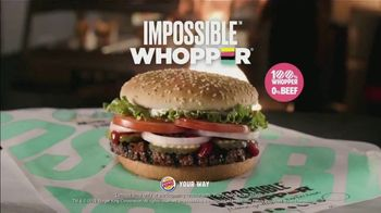 Burger King Impossible Whopper TV Spot, 'Impossible Taste Test: DoorDash' - Thumbnail 10