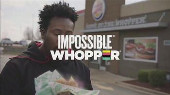 Burger King Impossible Whopper TV Spot, 'Impossible Taste Test: DoorDash' - Thumbnail 4