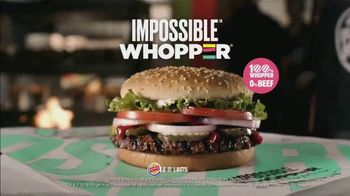 Burger King Impossible Whopper TV Spot, 'Impossible Taste Test: DoorDash' - Thumbnail 9