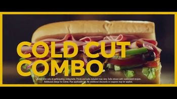 Subway Six-Inch Subs TV Spot, 'Make It What You Want: $2.99'