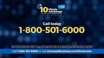 Comcast Business 10 Minute Advantage TV Spot, 'Faster Speed or Better Savings' - Thumbnail 8