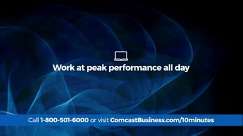 Comcast Business 10 Minute Advantage TV Spot, 'Faster Speed or Better Savings' - Thumbnail 3