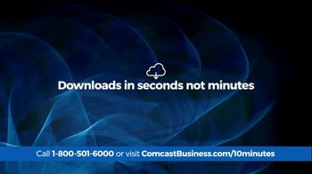 Comcast Business 10 Minute Advantage TV Spot, 'Faster Speed or Better Savings' - Thumbnail 4