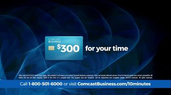 Comcast Business 10 Minute Advantage TV Spot, 'Faster Speed or Better Savings' - Thumbnail 6