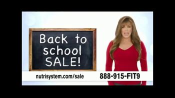 Nutrisystem Back to School Sale TV Spot, 'Save 50 Percent + Free Shakes' Featuring Marie Osmond - Thumbnail 1