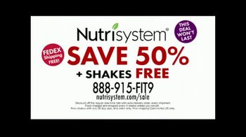 Nutrisystem Back to School Sale TV Spot, 'Save 50 Percent + Free Shakes' Featuring Marie Osmond - Thumbnail 9