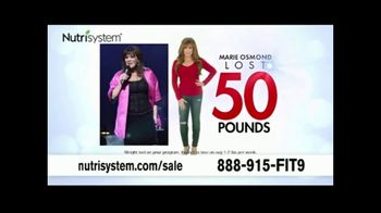 Nutrisystem Back to School Sale TV Spot, 'Save 50 Percent + Free Shakes' Featuring Marie Osmond - Thumbnail 3