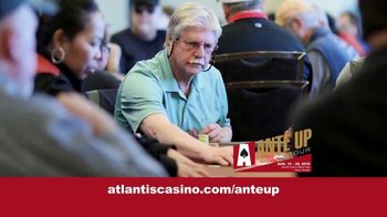 Atlantis Casino Resort Spa TV Spot, '2019 Ante Up Poker Tour'