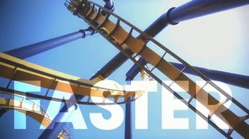 Six Flags Over Texas TV Spot, 'Bigger, Faster & Higher' - Thumbnail 2