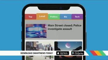 SmartNews TV Spot, 'Local Text'