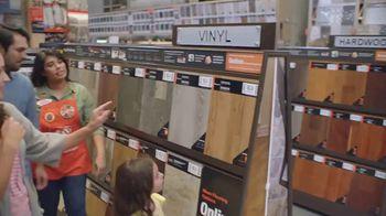 The Home Depot TV Spot, 'On Trend Styles: Vinyl, Laminate and Tile' - Thumbnail 3