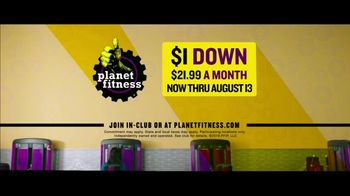 Planet Fitness PF Black Card TV Spot, 'All the Perks: $21.99 A Month' - Thumbnail 10
