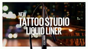 Maybelline New York Tattoo Studio Gel Pencil TV Spot, 'NYC-Proof: Liquid Liner' - Thumbnail 8