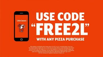 Little Caesars Pizza TV Spot, 'No Way!' Featuring Chase Elliott - Thumbnail 9