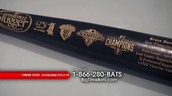 Big Time Bats TV Spot, 'Bruce Bochy: Louisville Slugger' - 62 commercial airings