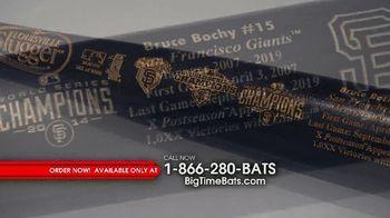 Big Time Bats TV Spot, 'Bruce Bochy: Louisville Slugger'