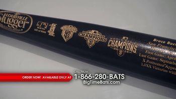 Big Time Bats TV Spot, 'Bruce Bochy: Louisville Slugger' - 62 commercial airings
