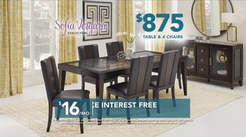 Rooms to Go TV Spot, 'Labor Day: Sofia Vergara Collection Table & Chairs' - Thumbnail 4