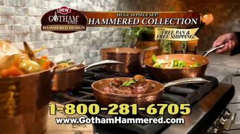 Gotham Steel Hammered Collection TV Spot, 'Upgrade Your Cookware: Free Pan' Featuring Daniel Green - Thumbnail 9