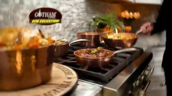 Gotham Steel Hammered Collection TV Spot, 'Upgrade Your Cookware: Free Pan' Featuring Daniel Green - Thumbnail 2