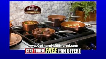 Gotham Steel Hammered Collection TV Spot, 'Upgrade Your Cookware: Free Pan' Featuring Daniel Green