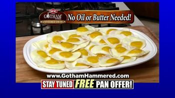 Gotham Steel Hammered Collection TV Spot, 'Upgrade Your Cookware: Free Pan' Featuring Daniel Green - Thumbnail 4