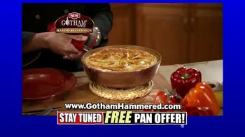 Gotham Steel Hammered Collection TV Spot, 'Upgrade Your Cookware: Free Pan' Featuring Daniel Green - Thumbnail 5