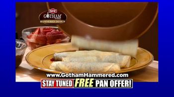 Gotham Steel Hammered Collection TV Spot, 'Upgrade Your Cookware: Free Pan' Featuring Daniel Green - Thumbnail 6