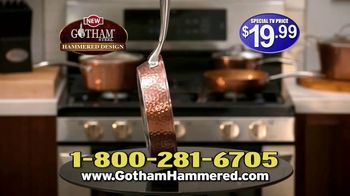 Gotham Steel Hammered Collection TV Spot, 'Upgrade Your Cookware: Free Pan' Featuring Daniel Green - Thumbnail 7