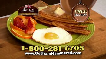 Gotham Steel Hammered Collection TV Spot, 'Upgrade Your Cookware: Free Pan' Featuring Daniel Green - Thumbnail 8