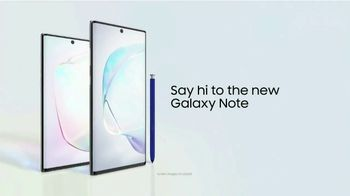 Samsung Galaxy Note10 TV Spot, 'Next-Level Power' Song by Club Yoko - Thumbnail 4