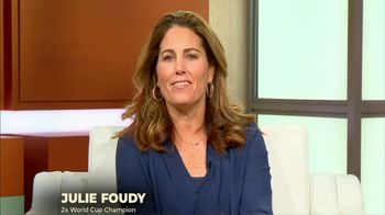 The Aspen Institute TV Spot, 'Girls Start Sports Later' Featuring Julie Foudy - 8 commercial airings