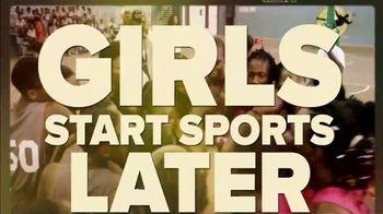 The Aspen Institute TV Spot, 'Girls Start Sports Later' Featuring Julie Foudy - Thumbnail 1