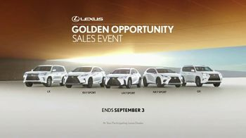Lexus Golden Opportunity Sales Event TV Spot, 'Luxury and Capability' [T1] - Thumbnail 9