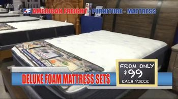American Freight Grand Opening Anniversary TV Spot, 'Free TVs: Mattresses, Chests, Desks and Futons' - Thumbnail 6