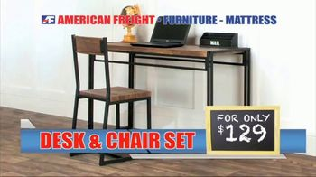 American Freight Grand Opening Anniversary TV Spot, 'Free TVs: Mattresses, Chests, Desks and Futons' - Thumbnail 7