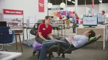Office Depot Furniture Event TV Spot, \'Worry Free\'