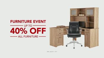 Office Depot Furniture Event TV Spot, 'Worry Free' - Thumbnail 7