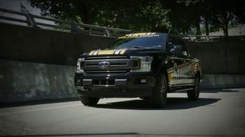 Ford F-150 TV Spot, 'Pittsburgh Steelers Ticket Giveaway: Going to Work' [T2]