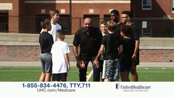 UnitedHealthcare Medicare Advantage TV Spot, 'Strong Team Supporting Me' Featuring Franco Harris - Thumbnail 7