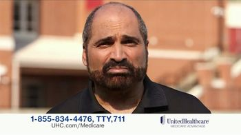 UnitedHealthcare Medicare Advantage TV Spot, 'Strong Team Supporting Me' Featuring Franco Harris - Thumbnail 9