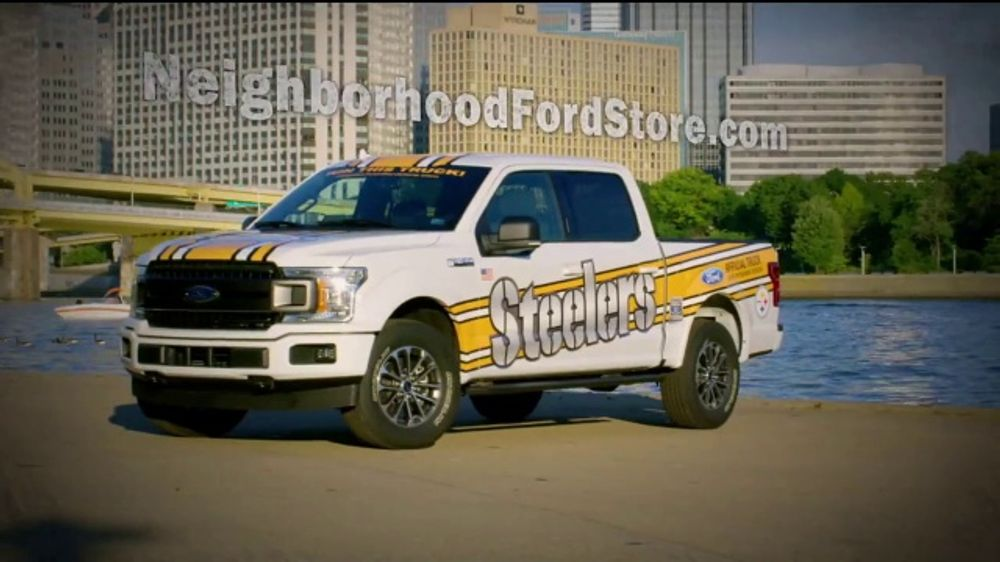 Ford F-Series TV Commercial, 'Pittsburgh Steelers Ticket Giveaway' [T2]