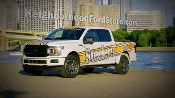 Ford F-Series TV Spot, 'Pittsburgh Steelers Ticket Giveaway' [T2]