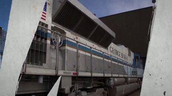 Union Pacific Railroad TV Spot, 'The George Bush Locomotive'