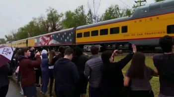 Union Pacific Railroad TV Spot, 'The George Bush Locomotive' - Thumbnail 8