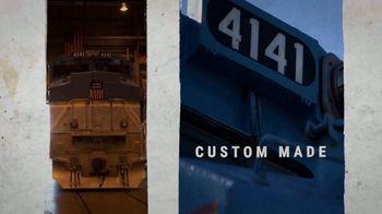 Union Pacific Railroad TV Spot, 'The George Bush Locomotive' - Thumbnail 1