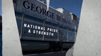 Union Pacific Railroad TV Spot, 'The George Bush Locomotive'