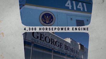 Union Pacific Railroad TV Spot, 'The George Bush Locomotive' - Thumbnail 6